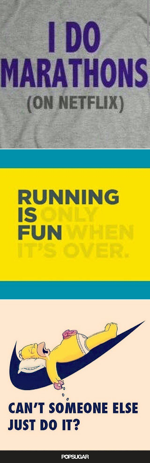 If you hate running, but you do it anyway, you'll totally relate to this.