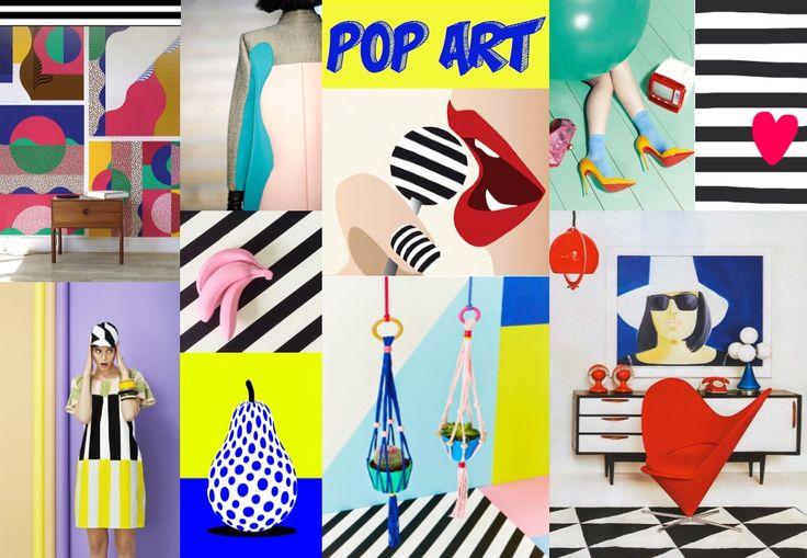Pop Art | 2016 Print&Pattern Design Trend