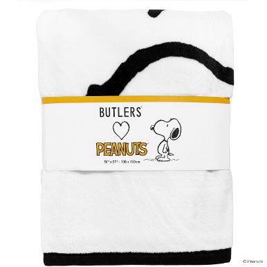 Kein Tag ohne Peanuts und die Widersprüche des Lebens: Fast 50 Jahre lang begeisterte Charles M. Schulz seine Leser jeden Tag mit neuen Geschichten von Pechvogel Charlie Brown, seinem eigensinnigen Hund Snoopy und den anderen kleinen Charakterköpfen aus der Nachbarschaft. Jetzt tritt die ganze Bande wieder in Aktion - bei der exklusiven Peanuts-Serie von Butlers. Auf Geschirr, Tischwäsche, Küchenutensilien, Wohnaccessoires, Geschenktaschen, Notizbüchern, Flanell-Decke, Fußmatte und n...