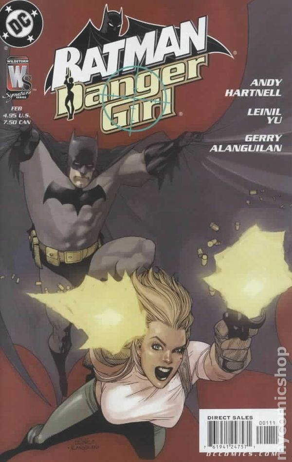 Batman Danger Girl (2005) 0A