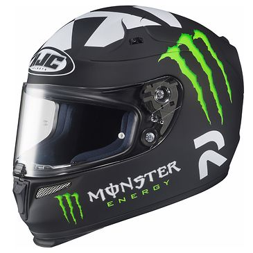 <b>HJC Helmets RPHA-10 Ben Spies Monster Replica II MC-5F Full Face Helmet</b><br><br>In recent years, HJC has focused substantial efforts on the development of new technologies and manufacturing capabilities. The outcome of this commitment is the RPHA series helmets. The RPHA series was created to bridge the gap, offering high performance and high value to discerning riders looking for a fully-featured helmet. R=Revolutionary, P=Performance, H=Hel...