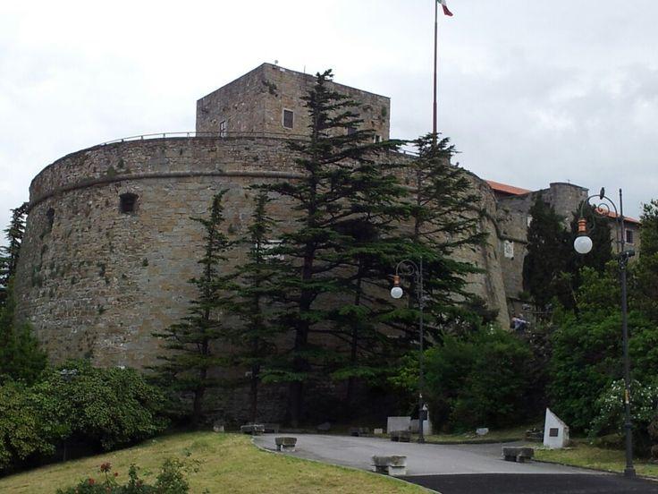 Castello San Giusto in Trieste, Friuli Venezia Giulia