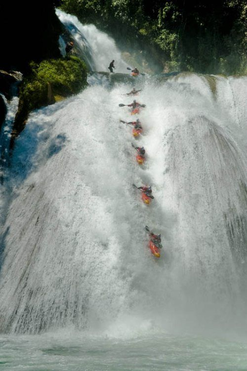 whitewater kayaking off waterfalls 18 Whitewater Kayaking photos by Red Bull (30 Photos)