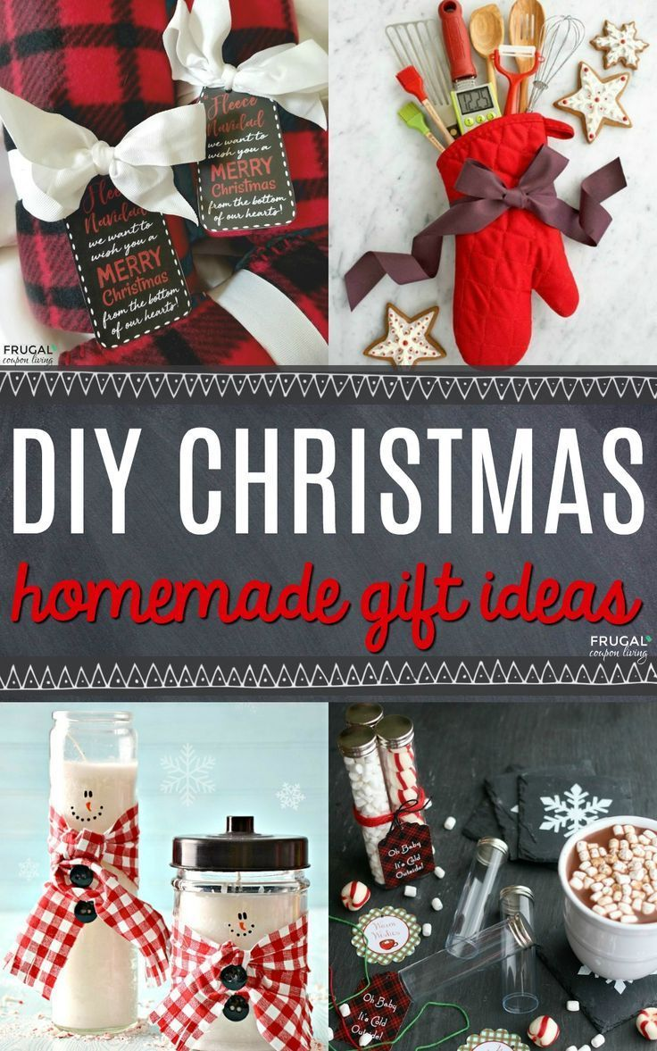 Christmas Homemade Gifts 31 Diy Christmas Gift Ideas Christmas Diy Christmas Gifts