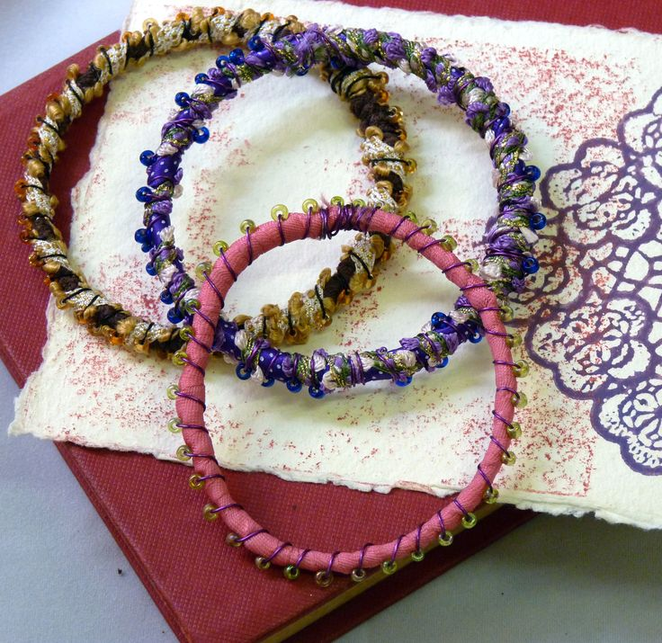 More amazing jewellery from our Recycled Jewellery course at Gardeners Lane in Cheltenham