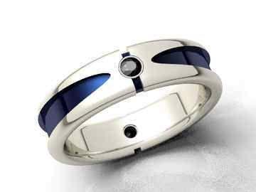 unique mens wedding rings for that inner star wars r2d2 - Star Wars Wedding Ring