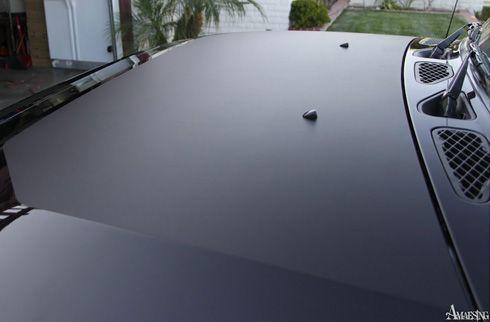 FJ Cruiser Matte Black Hood Decal [PFJ-MB-HOOD-DECAL] - $65.00 : Pure FJ Cruiser Accessories, Parts and Accessories for your Toyota FJ Cruiser