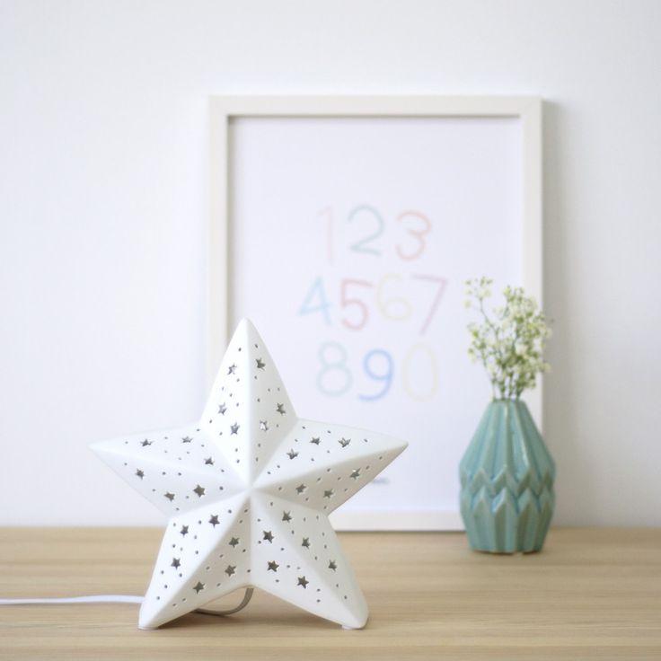 Estrella lámpara