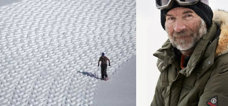 #gettyfeed This Man Walks On Snow And Made A Masterpiece - Simon Beck