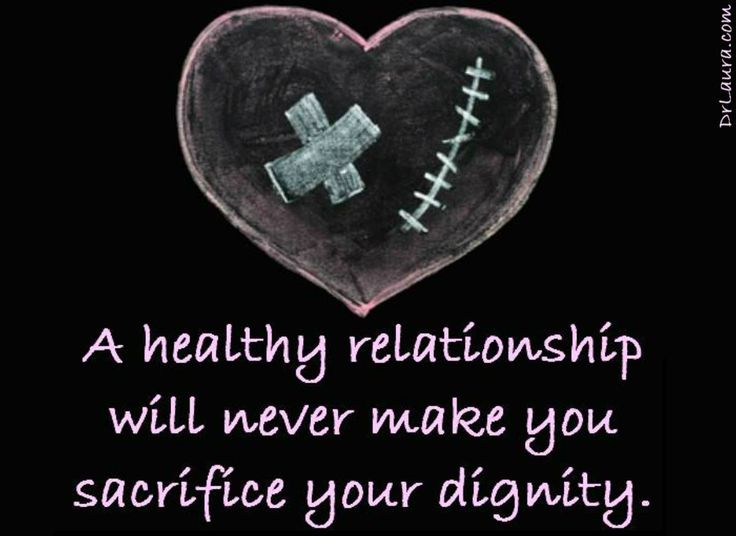 ...so don't even think of getting into anything that asks for that sacrifice.  #DrLaura