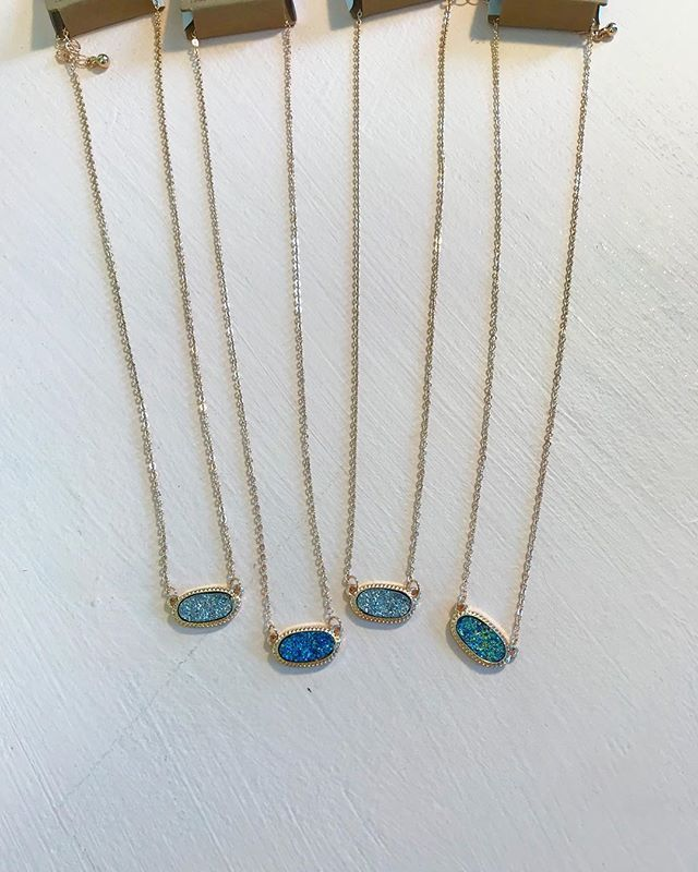 We are loving these new necklaces  We only have 4 left so get yours while we still have them! #stellalouiseboutique #shopwithus #hereingreer
