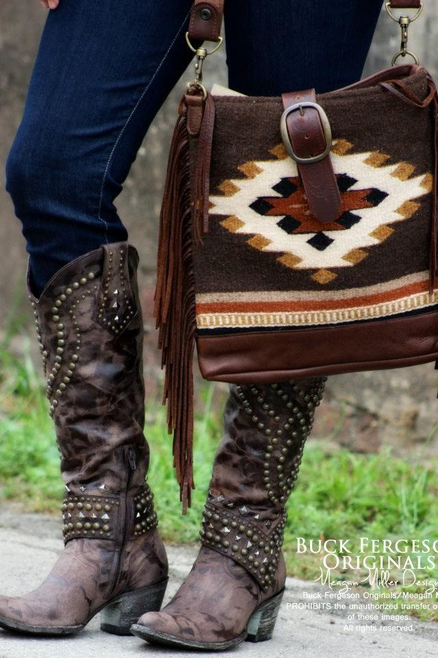 Buck Fergeson Originals I guess if I wore cowboy boots they'd look something like these!!