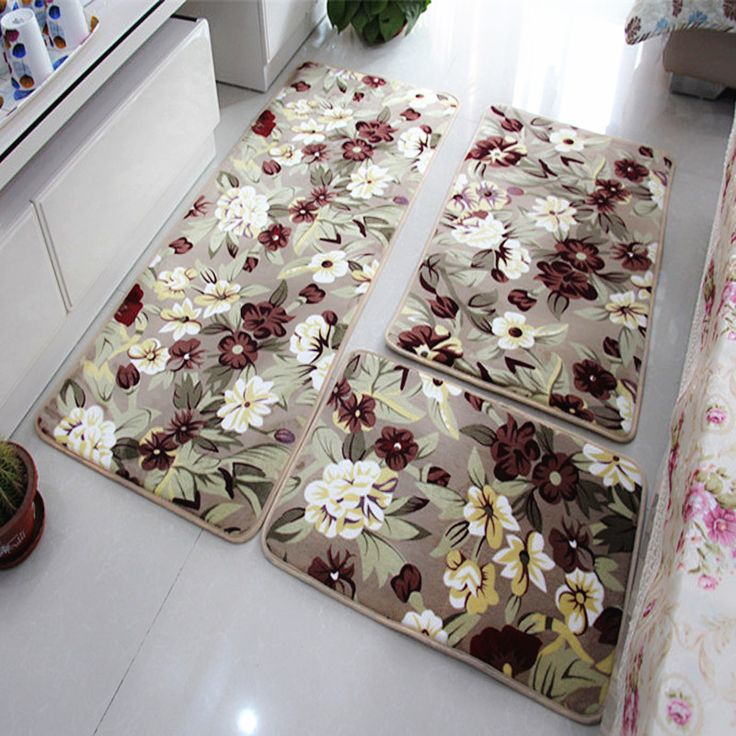 Pieces Set Large Size Bath Mat For The Kitchen Living Rom Cheap Large