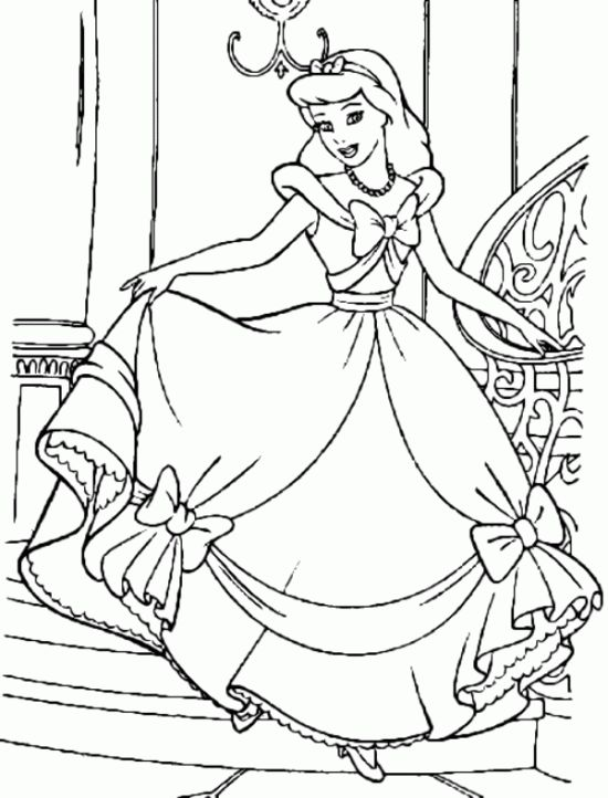 525 Best Disneys Princess Coloring Pages Images On Pinterest - princess color pages online