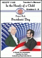 What is Presidents' Day all about?  How did it get started?  Learn all about this holiday when you choose either the Lapbook unit or the Notebooking unit - Presidents' Day -from In the Hands of a Child!