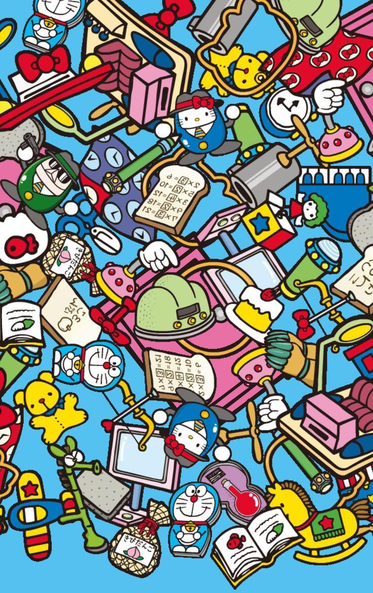 Pin by Werentin on Doraemon Wallpaper doodle, Doraemon