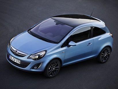 """Opel Corsa """"Color Edition"""" 3-door"""