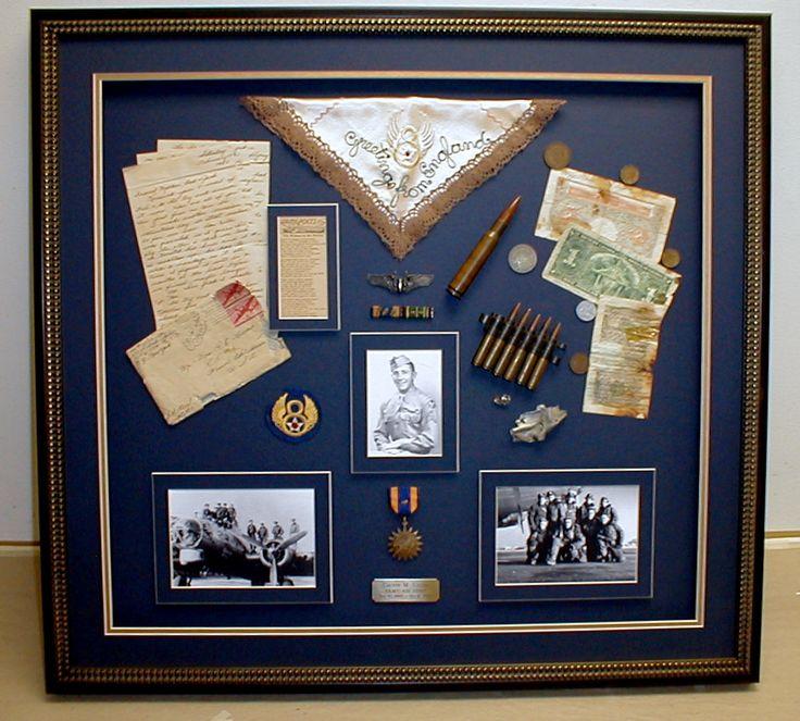Shadow box ideas for grandma, military, school, mom, graduation, wedding, couples, army, ant others