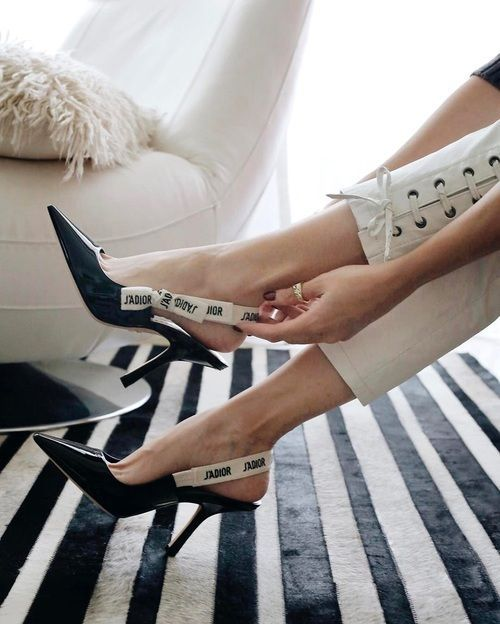 Fashion Inspiration : Dior, J'Adior Kitten Heel Pump