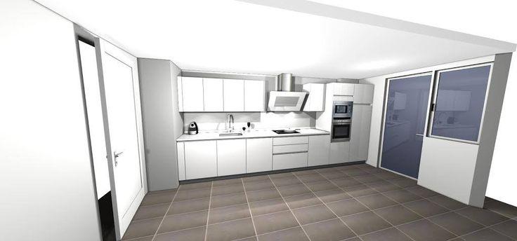 Tu casa, nuestro lienzo para crear la mejor cocina para ti   #diseñodecocinas #cocinasmadrid #mueblesdecocina