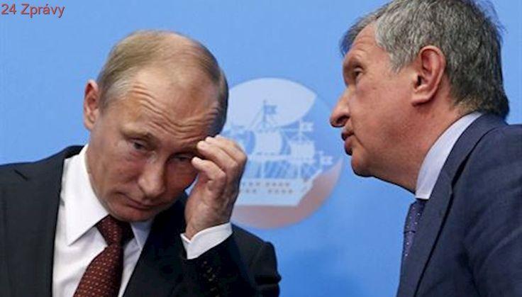 Číňané si myslí na klenot Kremlu. Chtějí koupit podíl v ropném obru Rosněft