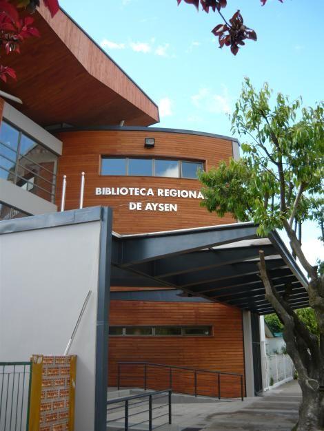 Biblioteca Regional de Aysén Coyhaique, Chile