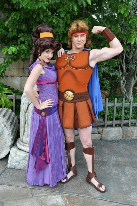 Hercules And Meg Costumes For Halloween