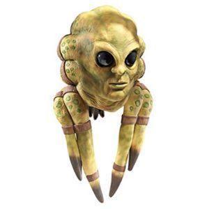 【コスプレ】 RUBIE'S(ルービーズ) 4103 Kit Fisto Latex Mask (スターウォーズ) キット フィストー ラテックスマスク - 拡大画像