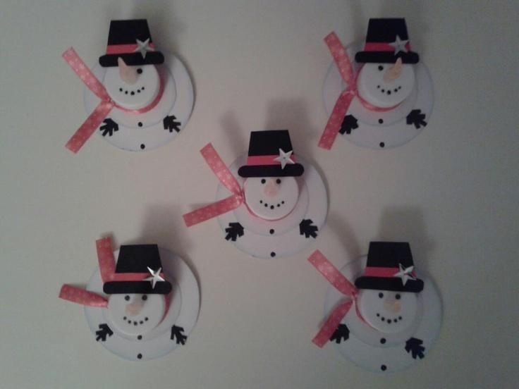 'Kerstkaarten' voor de juffen