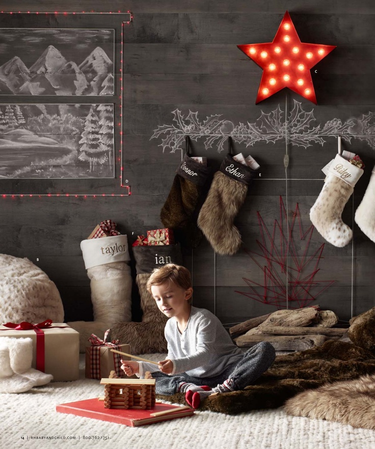 2012 Holiday Catalog | Restoration Hardware Baby & Child