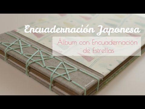 Como Hacer Encuadernación Japonesa Simplificada Tutorial Manualidades Scrapbook DIY Pintura Facil - YouTube