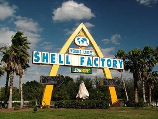 Curiously, the Shell Factory also claims the largest collection of taxidermy in North America.