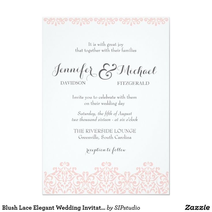 1951 best Elegant Wedding Invitations images on Pinterest ...
