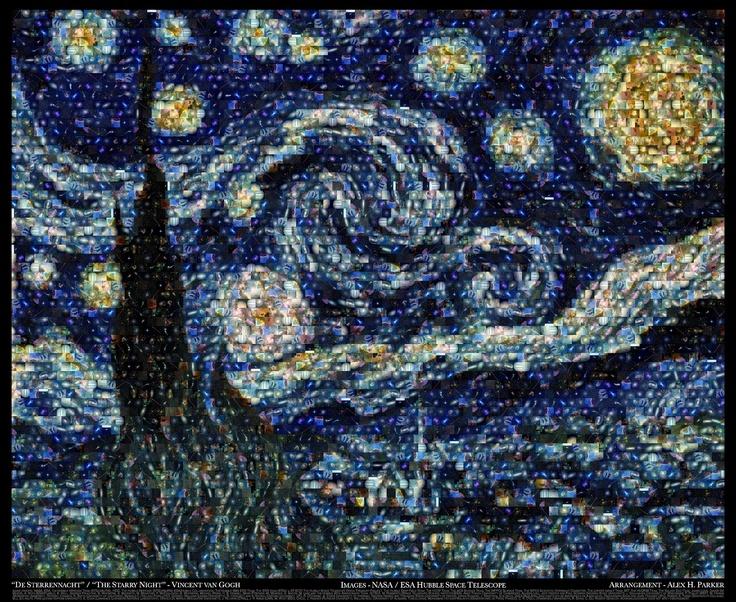 zemiorka: 'La Noche Estrellada' de van Gogh como nunca vista.