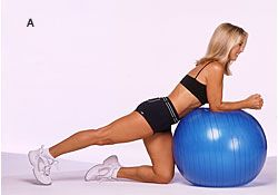 Use this move to tone outer thighs and lift your butt