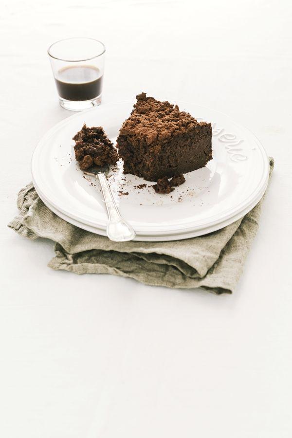 torta di pane - torta di pane al cacao - torta al cacao - torta al cioccolato - Torta di pane al cacao e cioccolato - Chocolate and cocoa bread pudding cake - Italian recipe - OPSD blog
