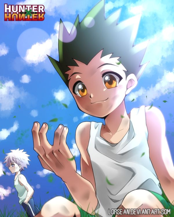 257 best hunter x hunter images on pinterest its gon fangirling ah hem sorry yes im also hunter x hunter fan i love this anime so much to be honest im hunter x hunter gon and killua voltagebd Gallery