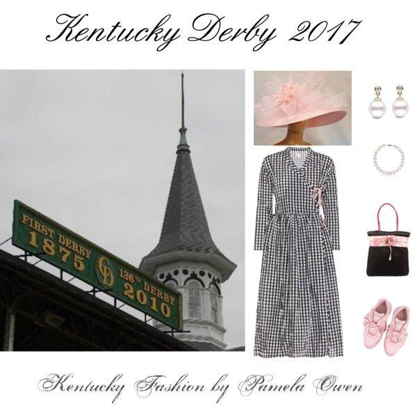 Kentucky Derby 2017 by kentuckyfashion on Polyvore featuring Shrimps, Puma and Prada