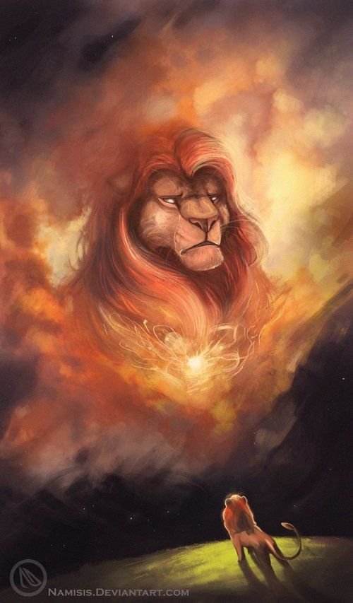 *MUFASA ~ Lion King, 1994, hands down the best moment in any Disney movie, and the most prophetic lines ever delivered, it gives me chills every time.