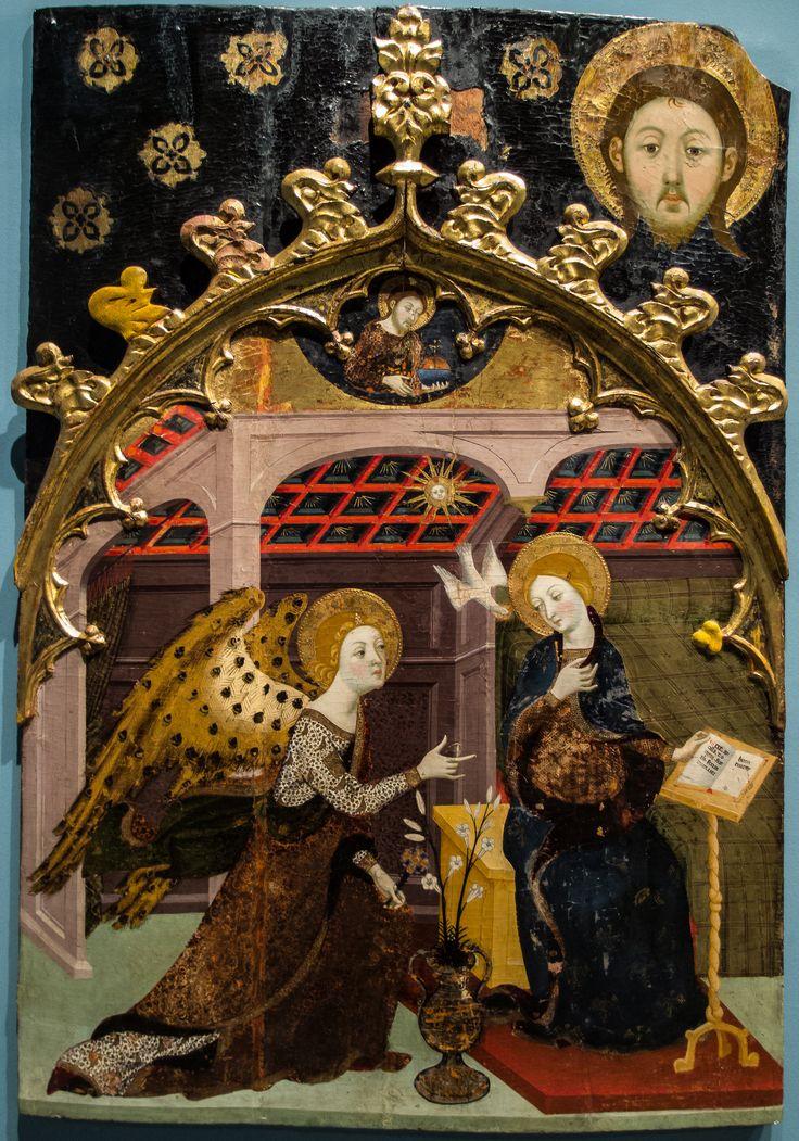 JAUME SERRA, Anunciación, 1361-62, Museo de Zaragoza