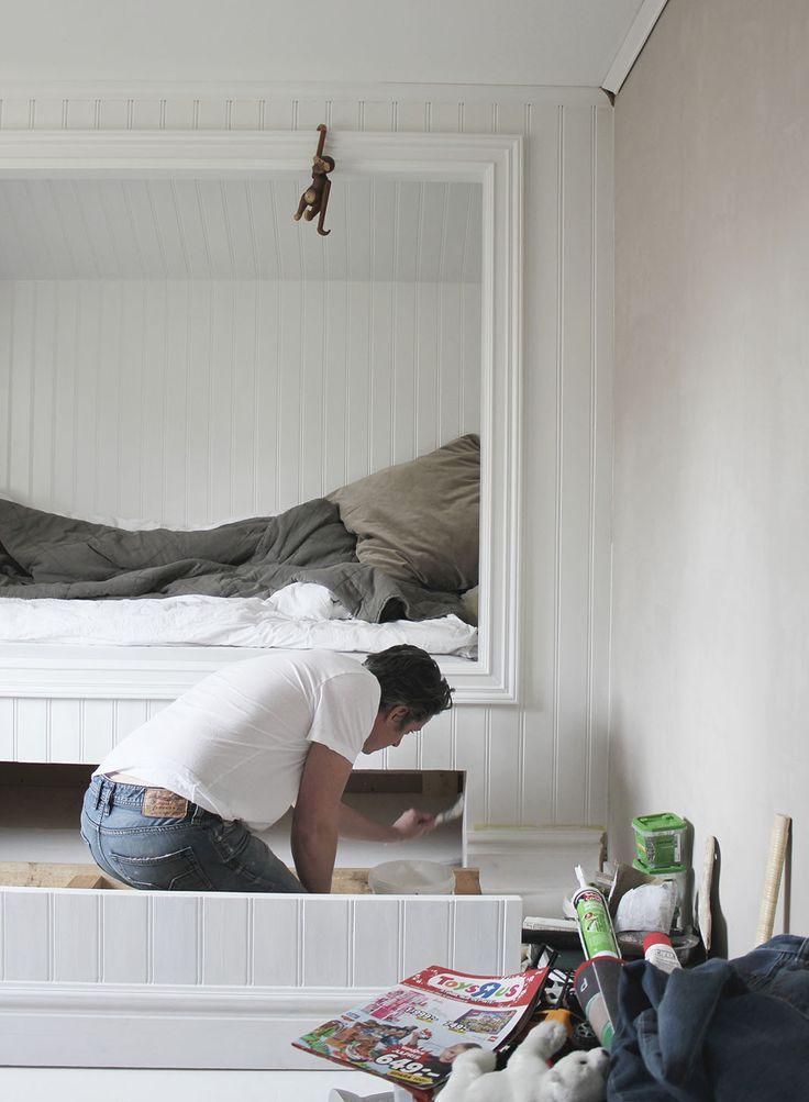 Bildresultat för inbyggd säng