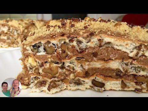 Торт «Королевский». Самый вкусный торт без муки!