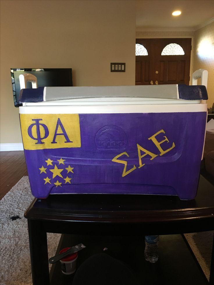 SAE fraternity formal cooler