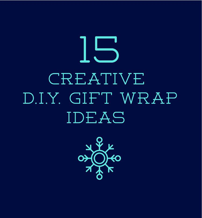 15 Creative DIY Gift Wrap Ideas