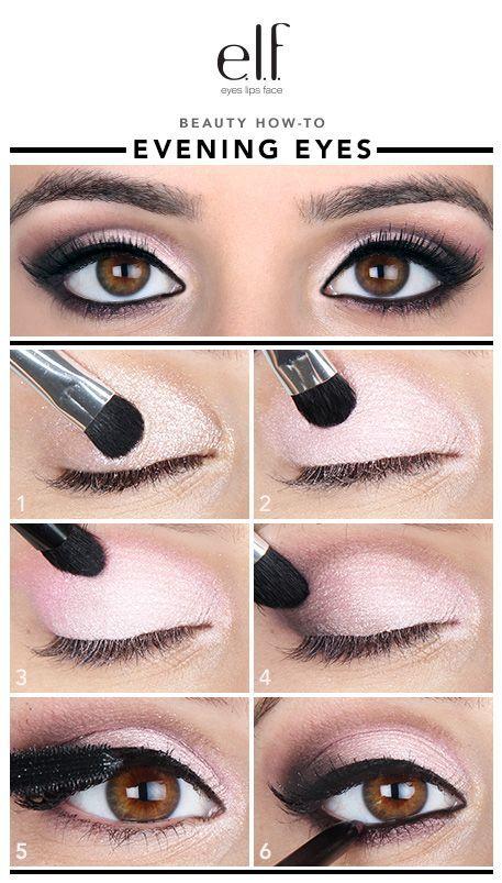 Un maquillage de soirée avec le trio à paupière proposé par Clyona : http://clyona.com/index.php?id_product=124&controller=product