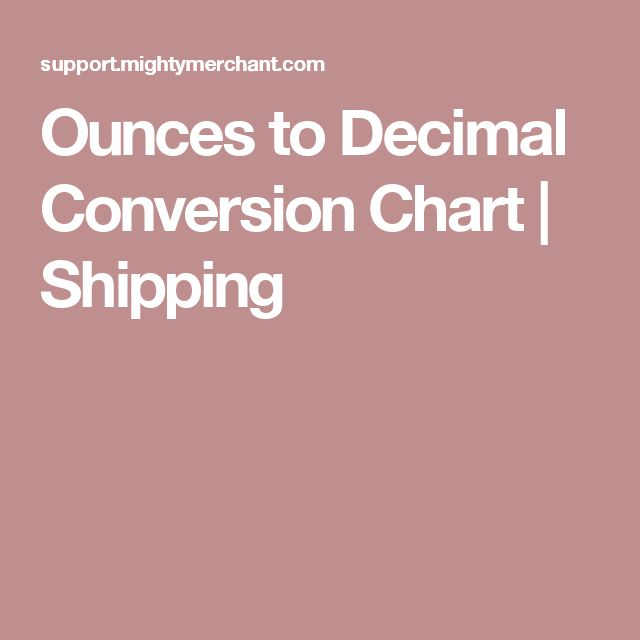 Best 10+ Decimal Conversion Ideas On Pinterest | Decimal Chart