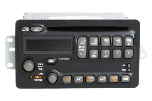Pontiac Aztek Montana Sunfire 2003-05 Radio AM FM CD Player Part Number 10317991
