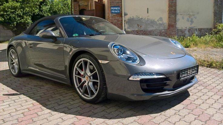 Porsche 911 Carrera 4S Cabriolet PDK #porsche