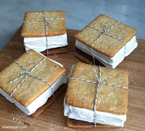 #DearMom You taught me to make s'mores. (These ones from @Sheri Silver look amazing): Graham Cookies, Diy S More, Food, Consider Diy, Homemade Marshmallows, Diy Smores, Campfires, Chocolate Sweets, Graham Crackers