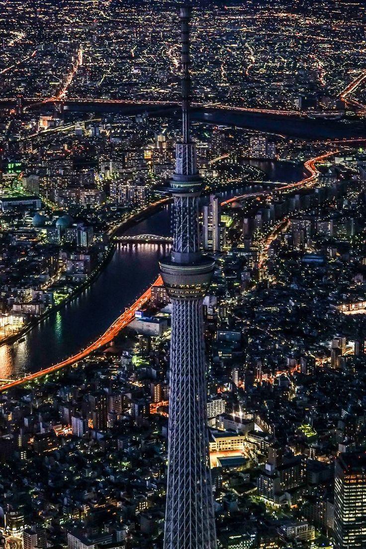 Tokyo - Skytree at night